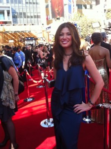 Esther Kiss at the Emmy's