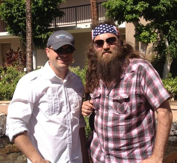 Justin Desmond talks about what it takes to succeed. With Willie from Duck Dynasty on the Defining Success Podcast with Zeb Welborn