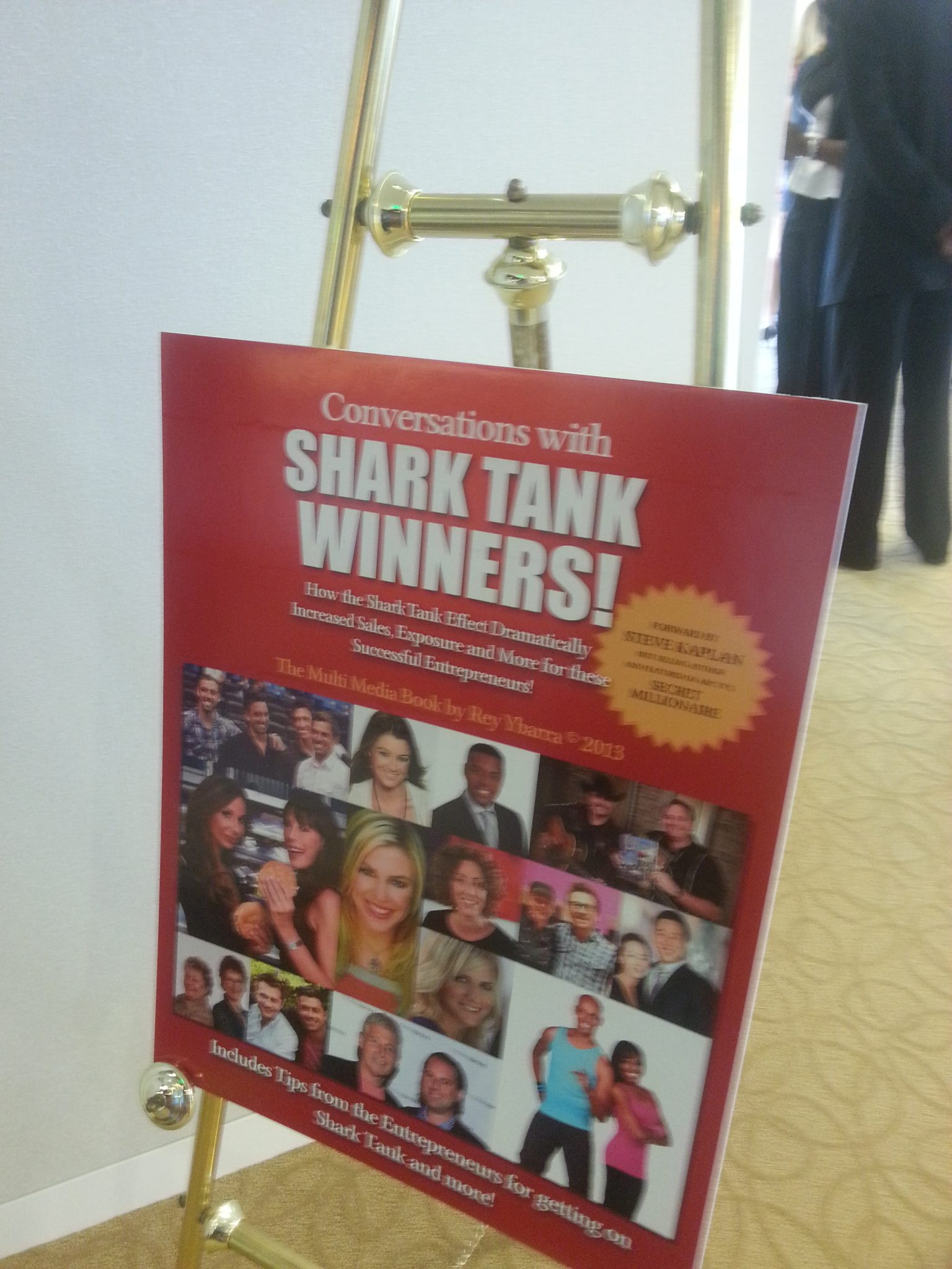 Conversations with Shark Tank Winners Book Launch by Rey Ybarra