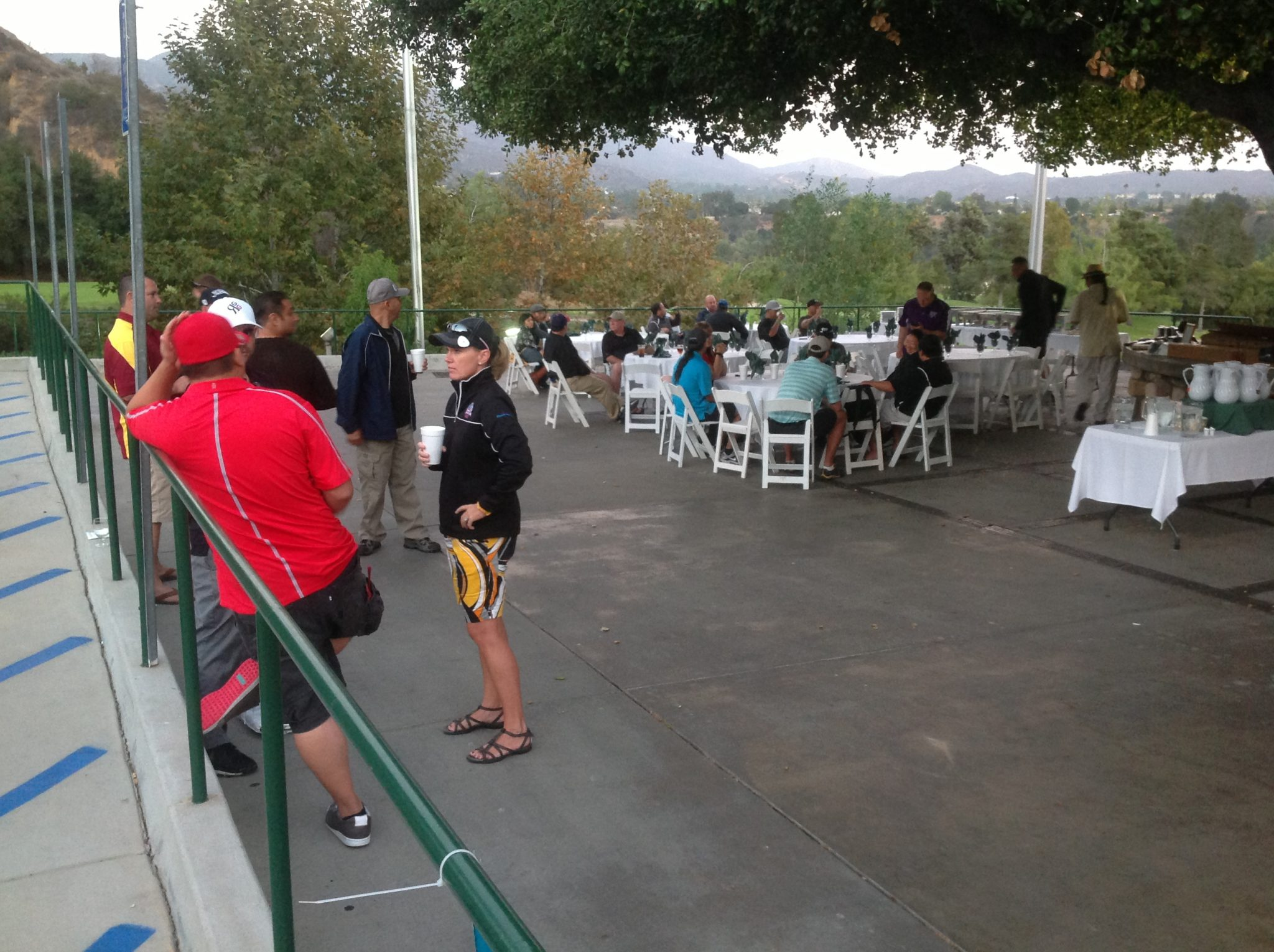 Kate Hughes Bunkers Paradise Charity Golf Tournament