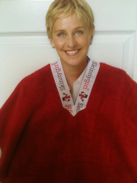 Ellen DeGeneres Wearing Her ShowNo Towel