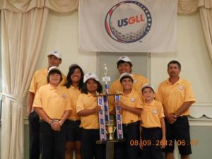 USGLL Junior Golfers Kevin Flanagan Golf is Social
