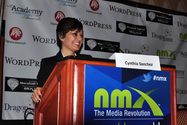 Cynthia Sanchez at NMX