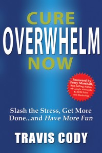 Cure Overwhelm Now Book by Travis Cody