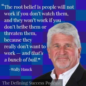 Wally Hauck on the performance appraisal